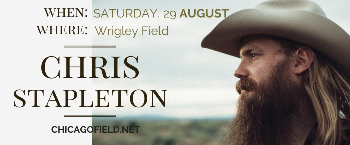 Chris Stapleton at Wrigley Field