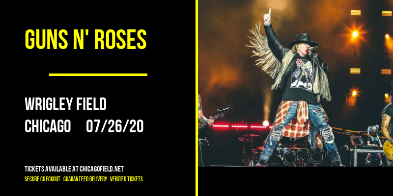 Guns N' Roses at Wrigley Field