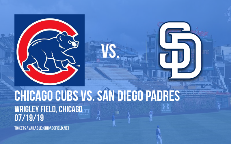 Chicago Cubs vs. San Diego Padres at Wrigley Field