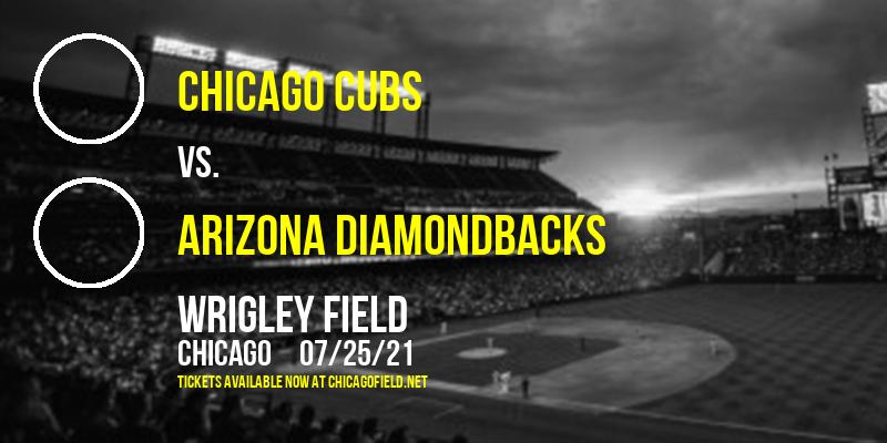 Chicago Cubs vs. Arizona Diamondbacks at Wrigley Field