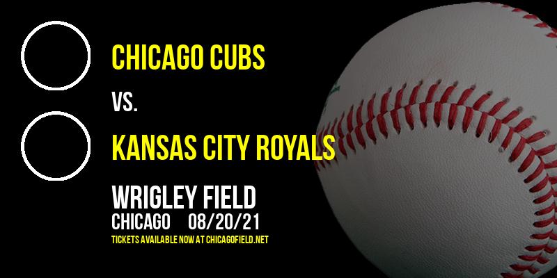 Chicago Cubs vs. Kansas City Royals at Wrigley Field