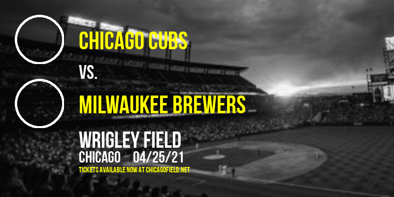 Chicago Cubs vs. Milwaukee Brewers [CANCELLED] at Wrigley Field