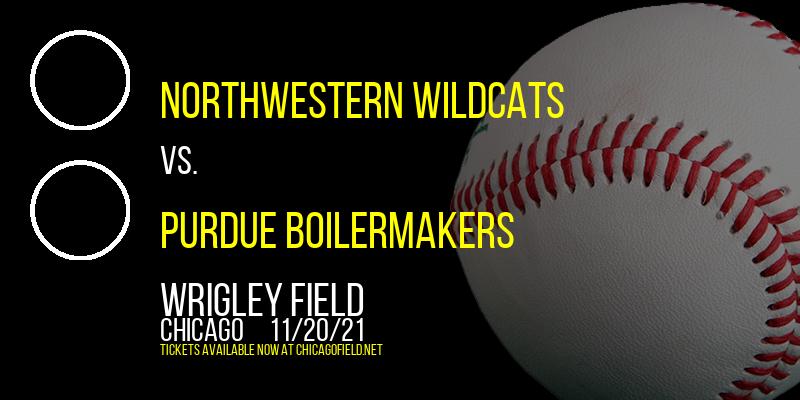 Northwestern Wildcats vs. Purdue Boilermakers at Wrigley Field