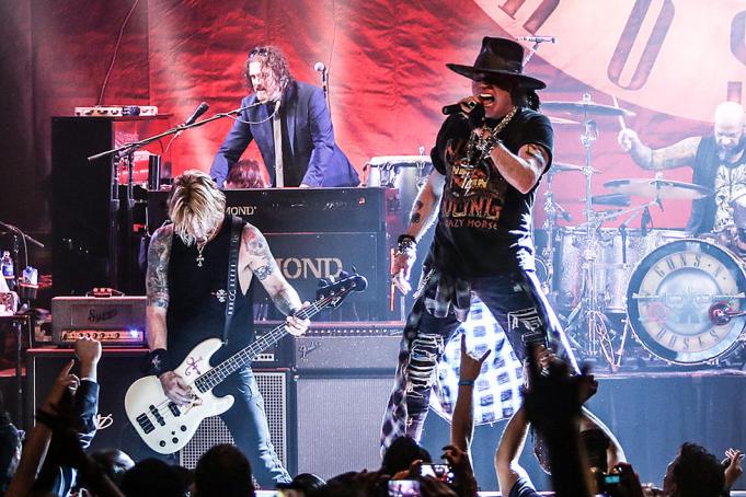 Guns N' Roses at Wrigley Field